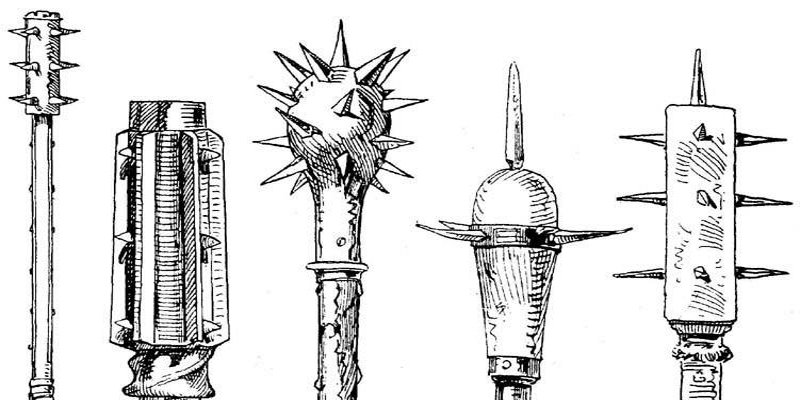Medieval Knight Close Combat weapons