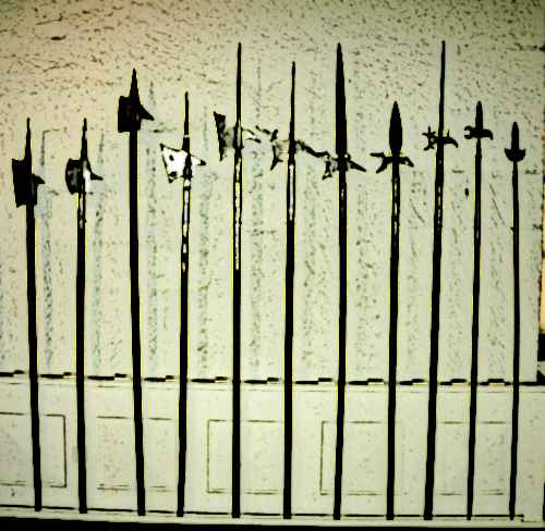 Poleaxe Weapons