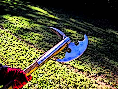 Medieval Poleaxe Footsoldier