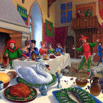 Medieval Feast Jester