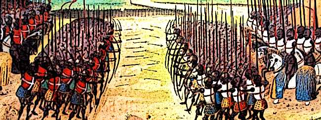 Medieval Footsoldiers Battle of Crecy