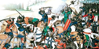 The First Crusades Battle