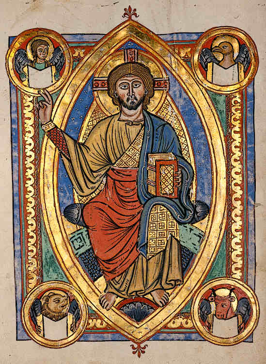 Romanesque Style Painting