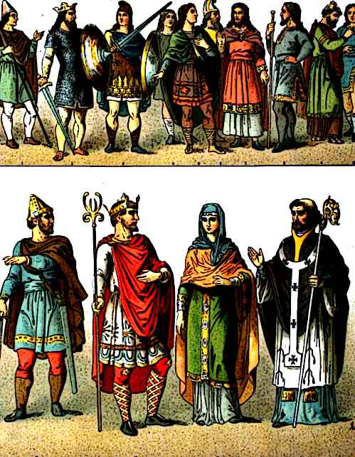 Medieval Fashion of the World