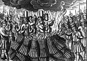 Heretics Burned at the stake