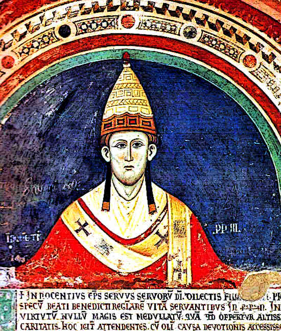 Pope Innocent III Fourth Crusade