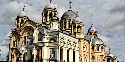 Byzantine Architecture Church