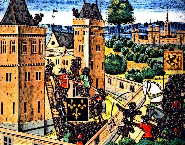 Knights-and-Castles-Attack-on-Wark-Castle Picture