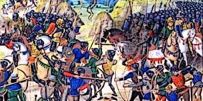 Battle of Crécy Froissart