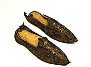 Byzantine Medieval Shoes