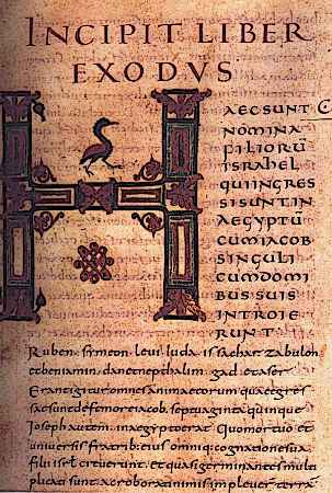 Medieval Caligraphy Charlemagne Period