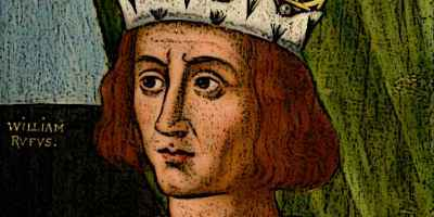 Portrait image of King William Rufus