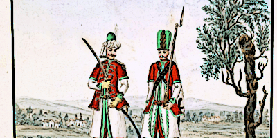 Janissaries Soldiers in Uniform