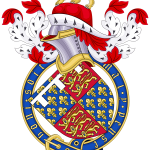 The Coat of Arms of Medieval King Edward III