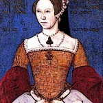 Portrait of Medieval Queen Mary I Bloody Mary