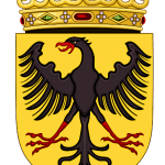 Medieval Coat of Arms Black Eagle