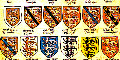 an introduction to role of heraldry in midevil times Crest ((heraldry) in medieval times, an emblem used to decorate a helmet) device (an emblematic design (especially in heraldry)) fess  fesse ((heraldry) an ordinary consisting of a broad horizontal band across a shield.