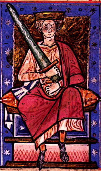 Medieval King Ethelred The Unready