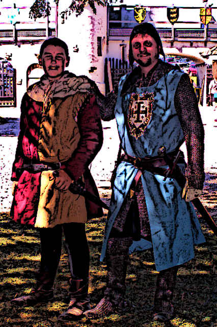 Medieval Squire & Knight