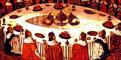 The knights of the round table for 12 knights of the round table of king arthur