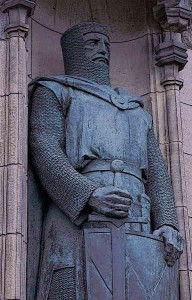 William Wallace Statue in Aberdeen