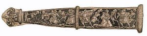 Scabbard With Dance of Death Detailing