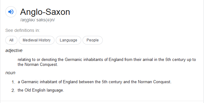 Anglo-Saxon-Definition-according-to-Google