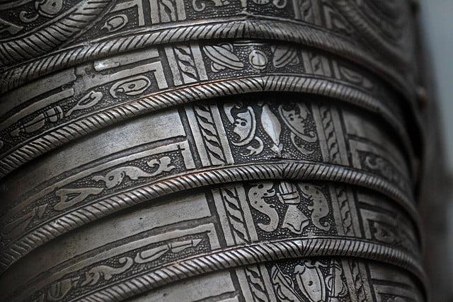 Knights Armor Shoulder Detail