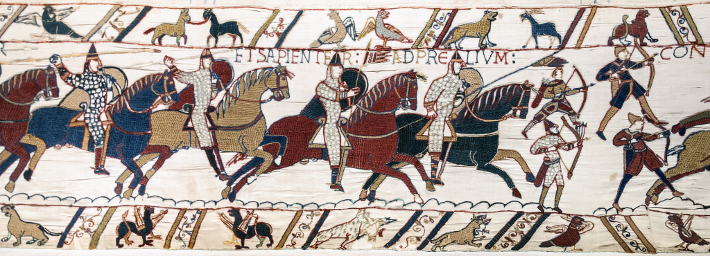 Bayeux Tapestry Scene 51