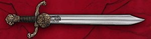 Falchion Sword - Elaborate Design