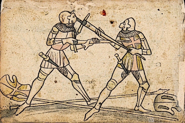 Knights Fight With Bastard Swords