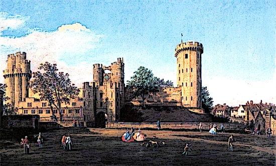 Warkwick Castle in Warwickshire