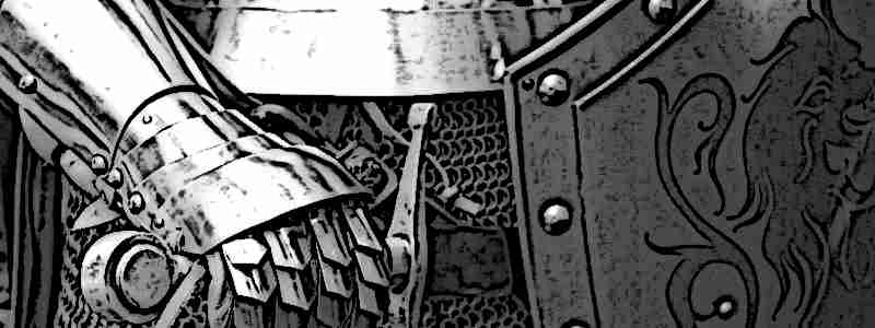 Medieval Armor and Shields