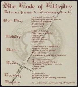 Code of Chivalry document