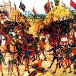Battle of Crecy longbowmen