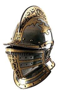 Iron Medieval Helmet