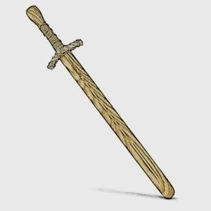 Baton Weapon Sword