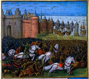 Christian and Muslim Battle Third Crusades