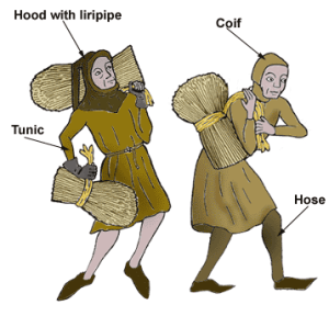 Peasants Costume Labelled