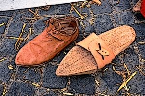 peasants shoes