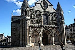Exterior-Romanesque Architecture Church