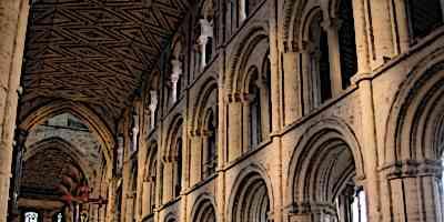 Romanesque Architecture Interior Arches
