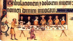 English Castle Medieval Banquet