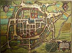 Medieval Castle Design Layout