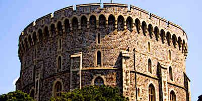 Medieval Castle Tower Windsor Tower