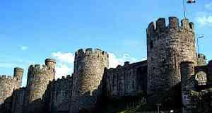 Conwy Castle Walls Conwy