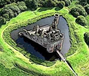 Medieval Castles Defences Moat