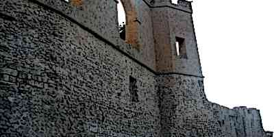 Medieval Castles Walls Red Castle Wall in Tripoli Libya
