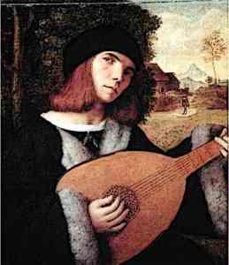 Medieval Minstrel Musician