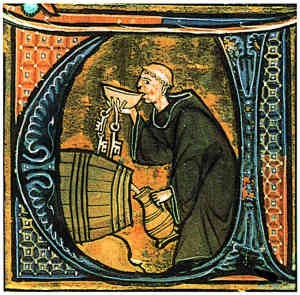 Medieval Drink for Monk